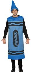Crayola Costume Blue Adt Lg/xl