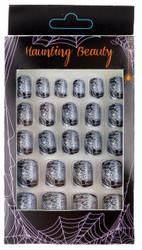 Finger Nails Spider Web
