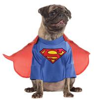 Pet Costume Superman Medium