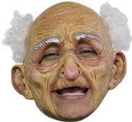 Oldman Dlx Chinless Latex Mask