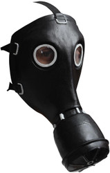 Gp-5 Gas Black Latex Mask