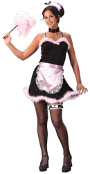 French Maid Pink Teen