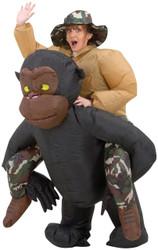 Inflatable Riding Gorilla Adul