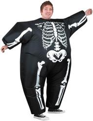 Inflatable Skeleton Costume