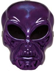 Alien Hockey Purple Mask