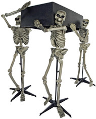 Skeleton Pall Bearers W/coffin