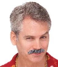 Mustache 70s Dude Black
