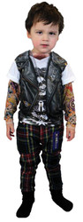 Tattoo Long Sleeve Youth Lg