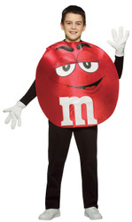 M&m's Character Poncho Rd Teen