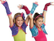 Dance Craze Arm Warmers Pink