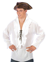 Shirt Fancy White Pirate