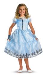 Alice Blue Dress Chd Dlx 4-6x