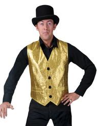 Gold Vest Adult Std