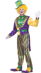Mardi Gras Clown Adult