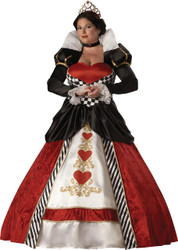 Queen Of Hearts Adult Xxxl