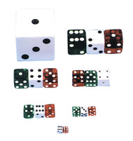Dice 1 Inch  Green