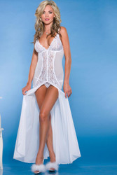 Gown Floor Length W/g-string