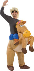 Riding On Horse Inflatable