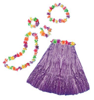 Aloha Set Adult Purple