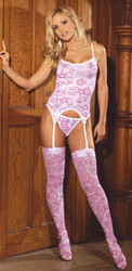 Bustier 3 Pc Valentine Set