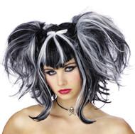 Wig Bad Fairy Black White