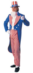 Uncle Sam Adult Costume Large