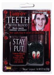 Fangs Vampire W/blood