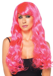 Starbright Wig Neon Pink