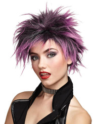 Wig Pink Punker Chick