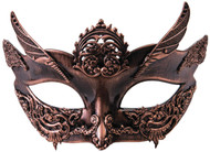 Steampunk Bronze Female Mask