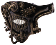 Steampunk Gold Mask
