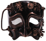 Steampunk Male Bronze Mask