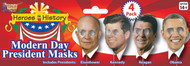 President On Stick Masks