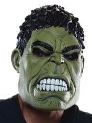 Hulk 3/4 Adult Mask
