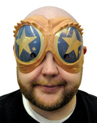 Peeper Mask Blue/gold Star