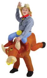 Bull Rider Kids Inflatable