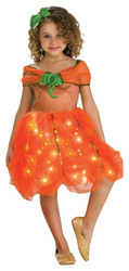 Lite Up Pumpkin Princess Todlr