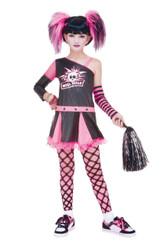 Gothic Cheerleader Child 10-12
