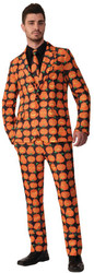 Pumpkin Dress Suit And Tie Std
