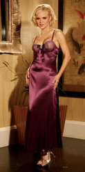 Gown Long W Rhinestone Large