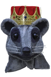 Mouse King Head W Red Crown
