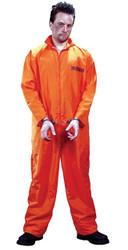 Got Busted Jumpsuit/orange