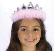 Tiara Marabou Pink Diamond