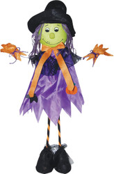 Standing Scarecrow Witch 28 In