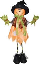 Standing Scarecrw Pumpkin 28in
