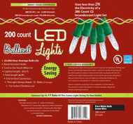 Holiday Lights 200l C3 Pure Wt