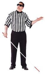 Blind Referee Adult Plus