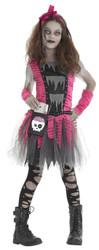 Zombie Girl Costume Child Smal