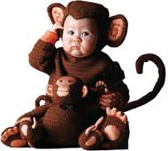 Tom Arma Monkey 4t-5t Toddler