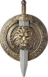Gladiator Shield Sword 18 Inch
